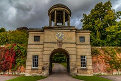 Attingham Park the Entrance to the back (21mapple) Tags: attinghampark attingham attinghamhall attinghamhouse house hall park nationaltrust nt hdr bell tower belltower windows archway trees