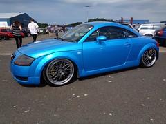 Audi TT 8N (911gt2rs) Tags: treffen meeting show event tuning tief low stance coupe sportwagen airride blau blue quattro