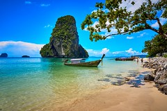 Phra Nang Beach Ao Nang Krabi Thailand (Gme of light) Tags: thailand beach asia a6000 aonang phranangbeach