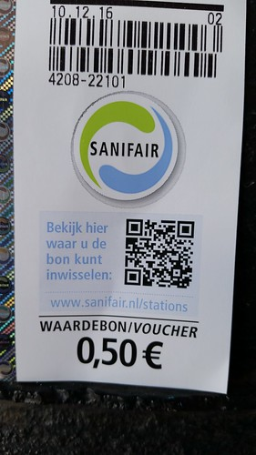 SaniFair Waardebon Voucher
