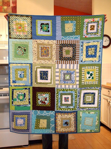 "completed September ""Hope"" quilt"