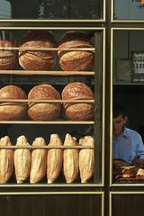 Bakery with local bread, Trabzon Turkey (Steve Hoge) Tags: geotagged blacksea