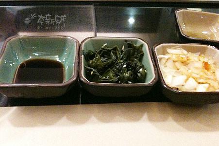 醬油、海帶和洋蔥