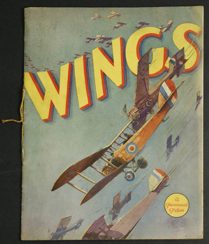 Wings1927_ProgramCover