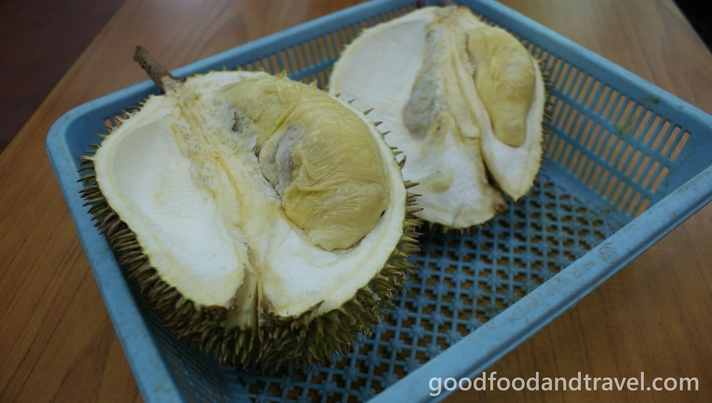 Eating Durian