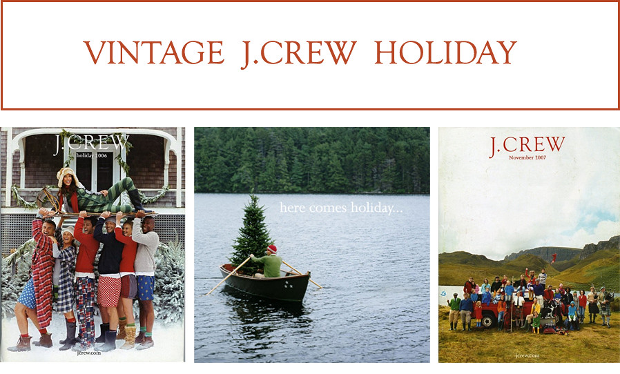 j crew holiday