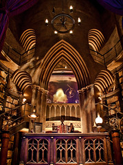 The Office of Albus Percival Wulfric Brian Dumbledore (Scott Smith (SRisonS)) Tags: castle office desk harrypotter lantern professor hogwarts magical headmaster islandsofadventure dumbledore wizardingworld forbiddenjourney wwohp
