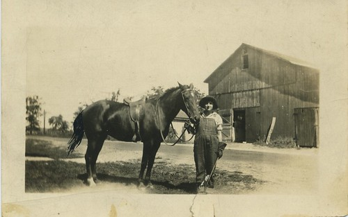 Fanny and her horse