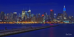 empire blues ([Adam Baker]) Tags: new york city panorama building water skyline skyscraper canon river pier twilight cityscape state manhattan jetty newyorker empire jersey hudson hoboken 24105l adambaker 5dmarkii