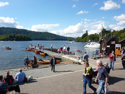 On the banks of Lake Windermere