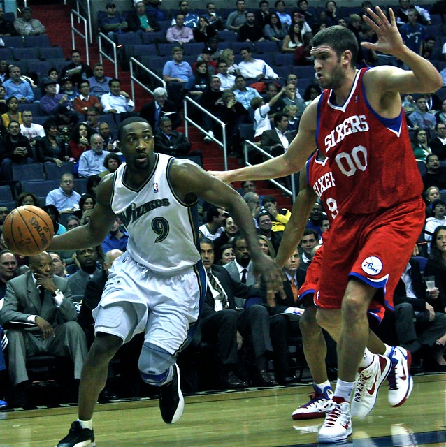 gilbert arenas, spencer hawes, washington wizards, nba, truth about it