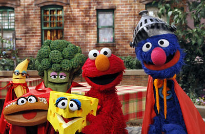 Food Elmo Eats (Courtesy Sesame Workshop/Richard Termine)