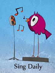 SingDaily (pawandy) Tags: bird illustration stand drawing song character dia daily note sing sound illustrator pajaro draw mic dibujo vector cancion diario ilustracion pajarito nota personaje sonido dibujar parar diariamente cantar micrfono