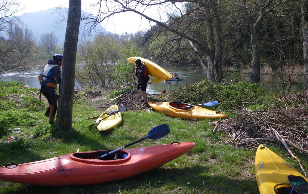 Descenso del Río Arakil en kayak 002