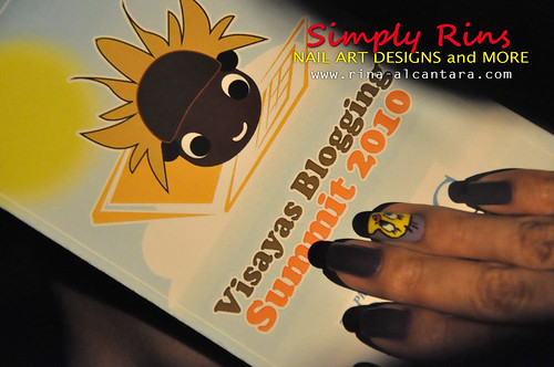 Nail Art Tweety 01