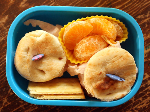 First Grader Bento #392: The food that wasn't eaten