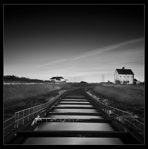 Black and white landscape photography inspiration from Bill Allen