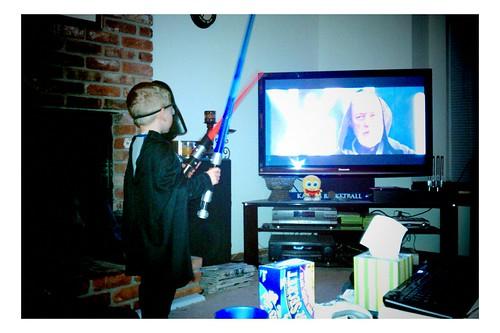 Little Vader - 12/4/2010