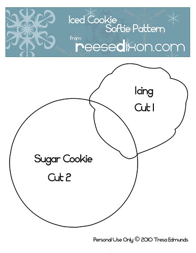 Iced Cookie Pattern