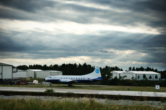 retired PanAm plane