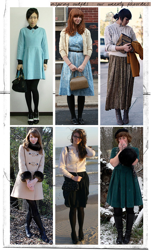 Vintage Outfit Favorites - Dec 6