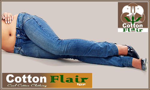 Fashion Products Photography : Cotton Flair Jeans