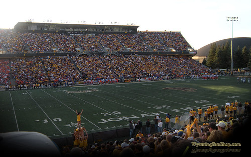War Memorial Stadium - Laramie, Wyoming