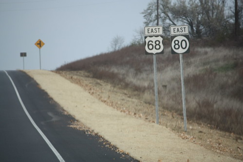 Hellvetica US 68 and KY 80