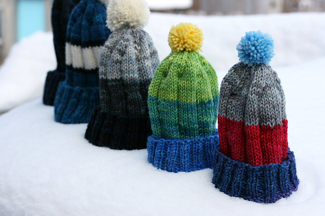 Tuques for everyone!