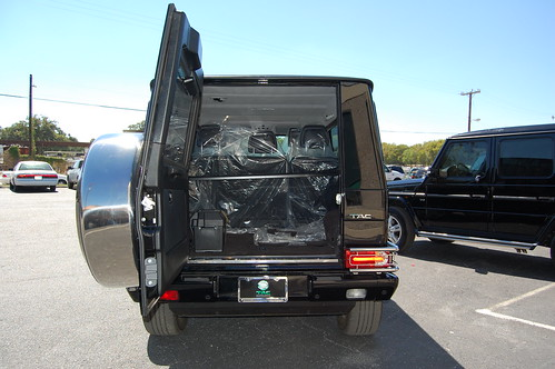 Suv >> Armored Bulletproof Mercedes-Benz G550 SUV