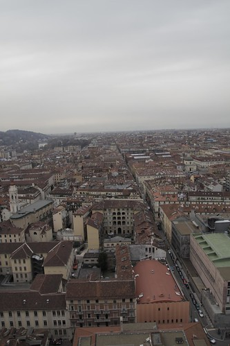 View of Torino from observation deck 7