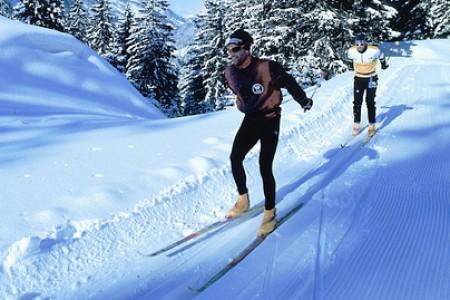První tréninky na sněhu = trpělivost