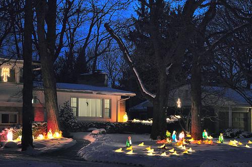 Tokay Boulevard Nativity Scene