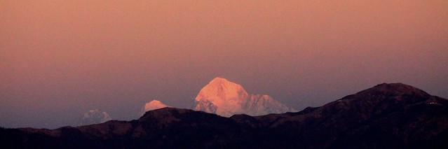 Kanchenjunga and Everest