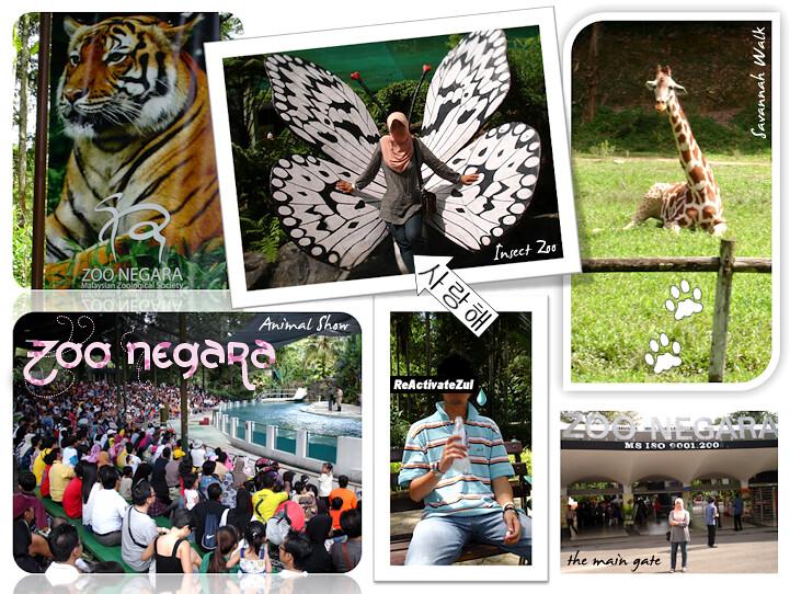 Jalan-jalan @ Zoo Negara