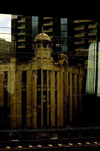 Melbourne from the Train