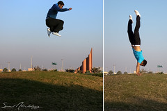 mE ^_^ (  || saud alageel) Tags: grass canon jump 500 d500 saud 500d  khobar alkhobar      alageel