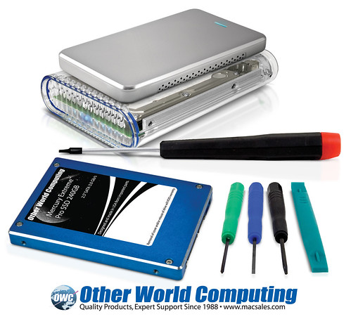 OWC Announces Do-It-Yourself (DIY) SSD Kits with Industry\'s Fastest SSDs to 480GB