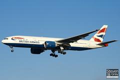 G-VIIU - 29963 - British Airways - Boeing 777-236ER - 101205 - Heathrow - Steven Gray - IMG_5415