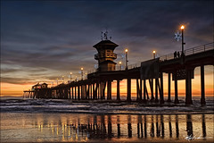Magic Hour at the Pier