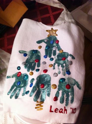 Leahs Christmas tree shirt