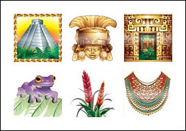 free City of Gold slot game symbols