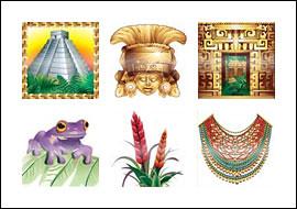 free City of Gold slot game symbols