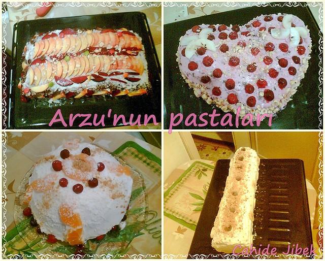 Arzunun pastaları