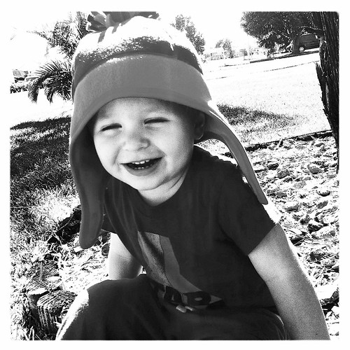 Loves his hat