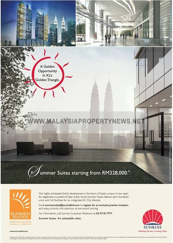 Summer Suites, Kuala Lumpur Soho suites for sale