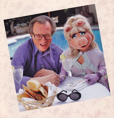 miss piggy - larry king