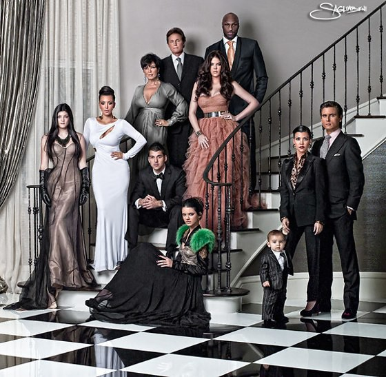 kardashian-christmas-card