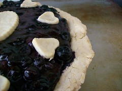 Blue(berry) Honey Pie for All! (jazzijava) Tags: christmas food fruit pie recipe dessert baking heart sweet free blogger blueberry honey gift vegetarian pastry blogged tapioca tart dates gf driedfruit baked gluten celiac glutenfree milkfree riceflour dairyfree pieplate nomilk cornfree whatsmellssogood blueberrydatepie