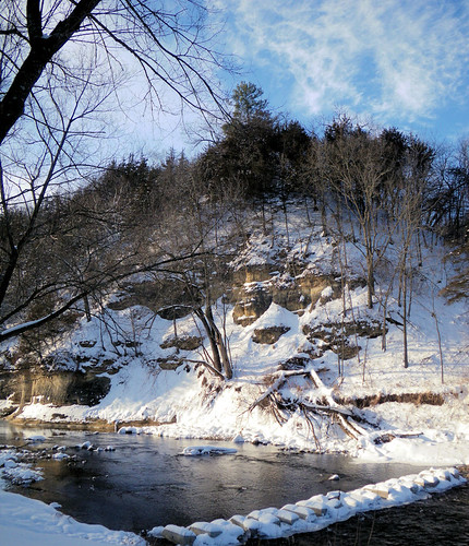 Winter2 at Whitewater State Park near Elba, MN
